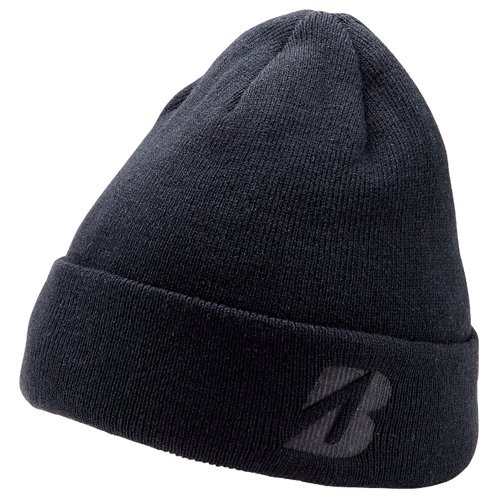 bridgestone-2016-winter-golf-beanie-hat-black