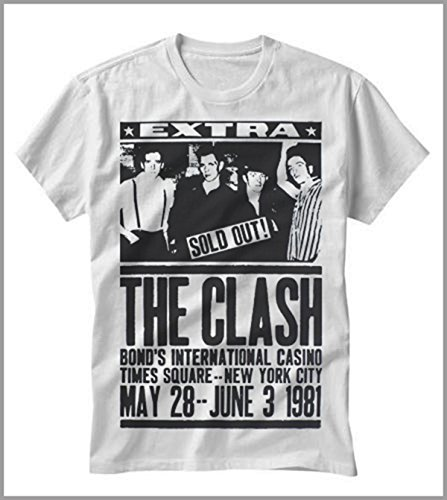 T-shirt uomo-donna CLASH The concert