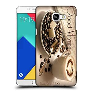 Snoogg Good Morning Designer Protective Back Case Cover For SAMSUNG A9