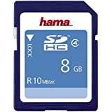 Hama HighSpeed SDHC Card 8GB Speicherkarte, Class 4