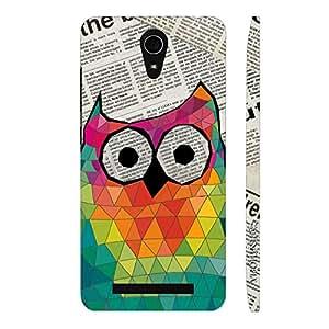 Enthopia Designer Hardshell Case Smart Owl Back Cover for Asus Zenfone 6