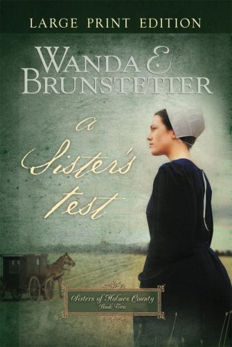 A Sister's Test (Sisters of Holmes County, Book 2), WANDA E. BRUNSTETTER