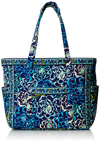 Vera Bradley Get Carried Away Travel Tote, Katalina Blues, One Size