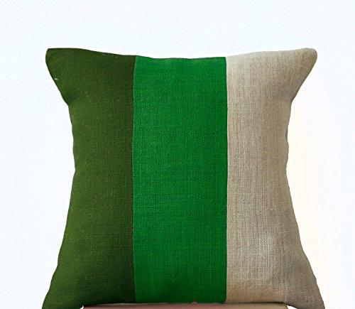 funda-de-cojin-elegante-verde-cojin-de-yute-color-verde-verde-y-crema-blanca-funda-de-cojin-dormitor
