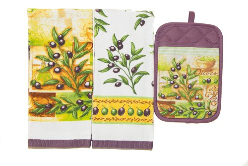 TownHouse Decorative Olives Combo Pack, 1-Kitchen