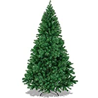 Best Choice Products 6' Premium Hinged Artificial Christmas Pine Tree With Solid Metal Legs 1000 Tips Full Tree by Best Choice Products