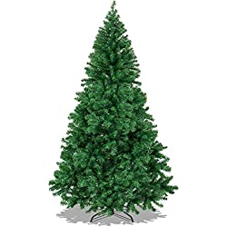 Best Choice Products 6' Premium Artificial Christmas Pine Tree With Solid Metal Legs 1000 Tips Full Tree