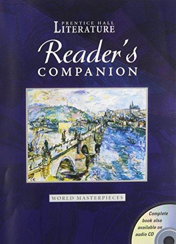 PRENTICE HALL WORLD MASTERPIECES READERS COMPANION  GRADE 12 2004C