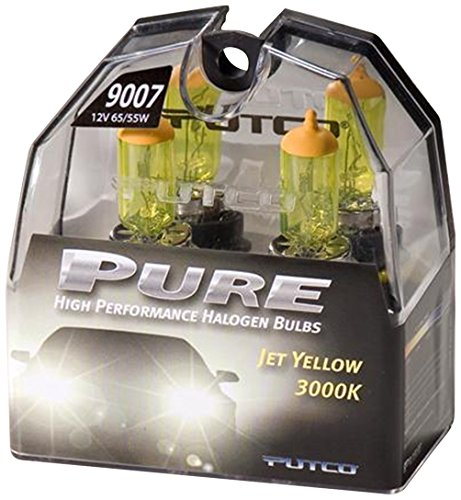 Putco 239007JY Premium Automotive Lighting Jet Yellow Halogen Headlight Bulb