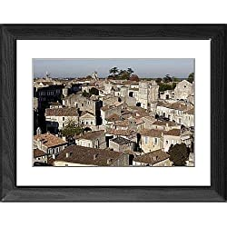 Framed Print of St. Emilion village, Gironde, France, Europe
