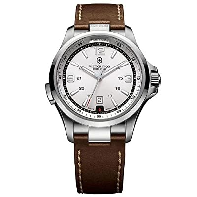 Victorinox Swiss Army Night Vision White Dial Men's Watch - 241570 by Swiss Army