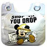 DISNEY MINNIE MOUSE GREY TOTE BAG HANDBAG SHOPPING TRAVEL GROCERY UNI BAG 624402