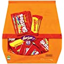 Skittles/Starburst Original Fun Size, 31.9-Ounce Stand Up Bags (Pack of 2)