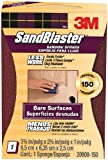 3M SandBlaster Bare Surfaces Sponge, 150-Grit