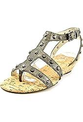 Michael Michael Kors Jolie Sandal Womens Leather Wedge Sandals Shoes