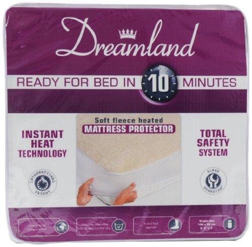 Dreamland Fleece Mattress Protector Double