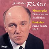 echange, troc  - Moussorgski : Tableaux d'une exposition. Prokofiev : Sonate n 7. Richter.