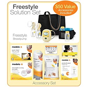 Guide Medela Freestyle Double Electric Breast Pump Solution Set With Accessories Baby More Andrea New