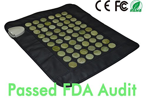 UTK Far Infrared Electric Heat Therapy 15 by 19-Inch Jade Pad, Small (Infrared Jade Heating Pad compare prices)