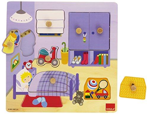 Goula 53034 - Puzzle Cameretta Bimbi