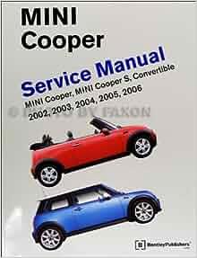 2002 2006 mini cooper bentley repair shop manual mini. Black Bedroom Furniture Sets. Home Design Ideas