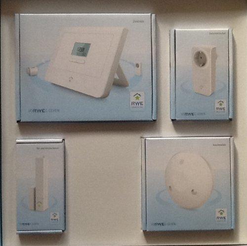 RWE SmartHome Sorglospaket 1x Zentrale 1x Tür-und Fens