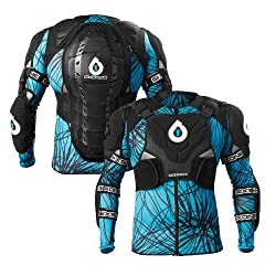 SixSixOne Black/Cyan Evo Pressure Suit from SixSixOne