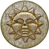 """Springfield Sun Clock Indoor/Outdoor 12"""""""