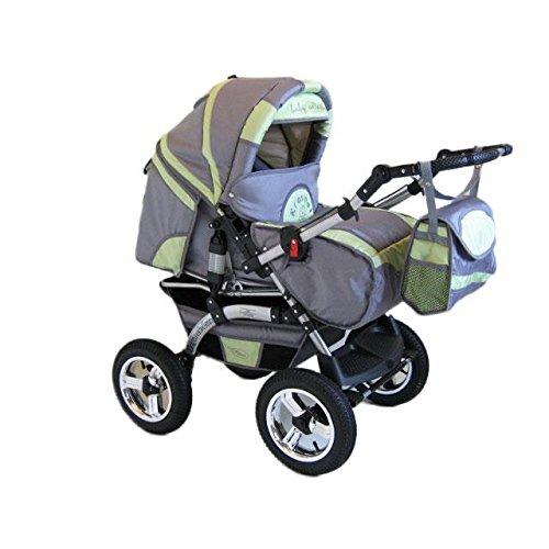 preisvergleich und test kinderwagen kombikinderwagen buggy hartgummmir der szymek lux bc04. Black Bedroom Furniture Sets. Home Design Ideas