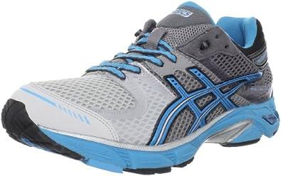 ASICS Men's GEL-DS Trainer 17 Running Shoe,Lightning/Hot Blue/Black,7 M US