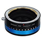 Fotodiox Pro Lens Mount Adapter, Contax N Lens to Micro Four Thirds (M 4/3, MFT) Camera Body with Iris, for Olympus PEN E-P1 & Panasonic Lumix DMC-G1, DMC-GH1, DMC-GF1