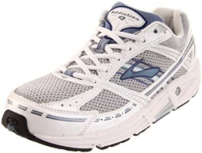 Brooks Women's Addiction 9 Road Running Shoe,Silver/Infinity/PearlWhite/Twilight/Black,6 D