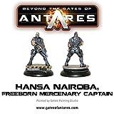 Beyond The Gates Of Antares, Hansa Nairoba & Bovan Tuk, Mercenary Captains