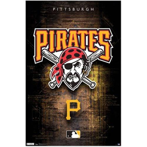 Pittsburgh Pirates Logo 2011 Sports Poster Print