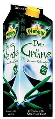 Pfanner Der Grüne Zitrone-Kaktusfeige, Grüner Tee, Tetra - 2L - 6x von Hermann Pfanner Getränke bei Gewürze Shop