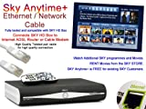 PCSL Brand - SKY Anytime / Anytime Plus + Ethernet / Network Cable 1m ~ Connects SKY HD Satelite Box to Internet ADSL Router or Cable Modem, watch additional programmes and movies and also access the SKY STORE on your SKY HD Box.