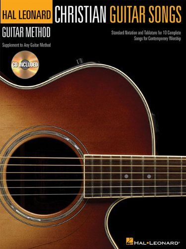 Christian Guitar Songs - Hal Leonard Guitar Method Supplement (Book/Cd)