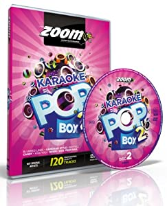 Zoom Karaoke Pop Box 2 Party Pack - 4 DVD Box Set - 120 Songs