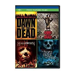 Dawn of the Dead / George A. Romero's Land of the Dead / Halloween II / The People Under the Stairs Four Feature Films