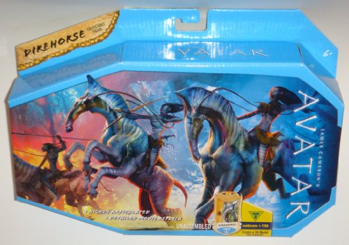 Buy Low Price Mattel James Cameron's Avatar Movie Creature Toy Figure Direhorse (B002Q631S4)