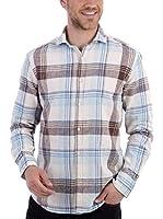 BLUE COAST YACHTING Squared Colour Shirt Squared Colour Shirt (MARRON)