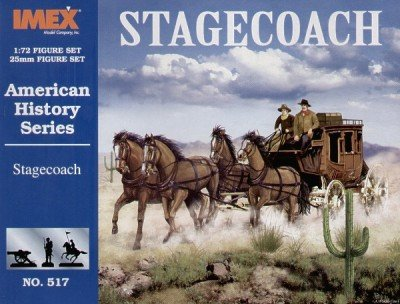 Stagecoach & American History Figures Set 1/72 Imex (Stagecoach Model compare prices)