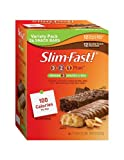 SlimFast Variety Pack Snack Bar, 0.81 Ounce (Pack of 24)