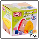 Wood Worx Wooden Shape Sorter