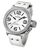 TW Steel Women's Quartz Watch Canteen Style TW-35 with Leather Strap