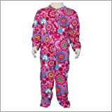 Printed Chip Chip Collection Footed Snap Front Infant Baby Rompers. Cotton Sleep N Play Baby Pajamas.(12M)