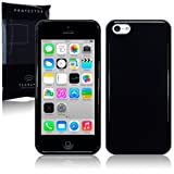 New Apple iPhone 5C 8gb (2014) TPU Gel Skin Case / Cover - Solid Black