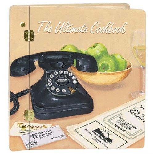 Ultimate Cookbook Photo Album In Cream Customize: Yes