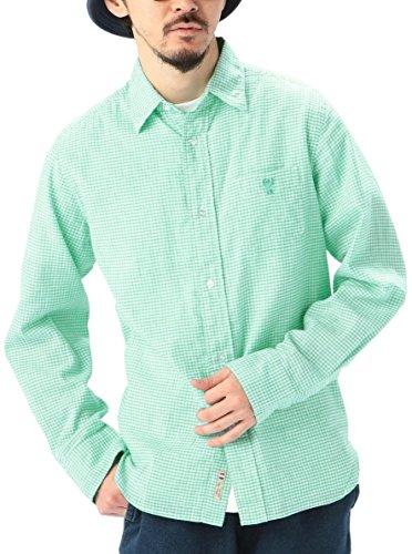 (コーエン) COEN フレンチリネン×コットンギンガムチェックシャツ 75106045010 65 Kelly L