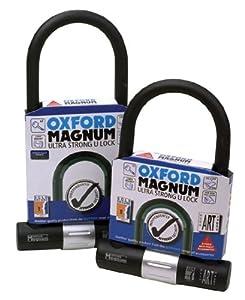 Oxford Magnum Motorcycle Lock 170 x 258mm